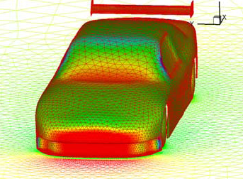 CFD results help drive better design of the vehicles
