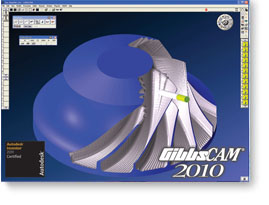 Autodesk Certifies 32-bit and 64-bit GibbsCAM 2010 for Autodesk Inventor 2011