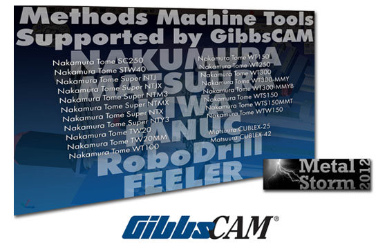GibbsCAM Generates CNC Programs for Nakamura-Tome MTMs