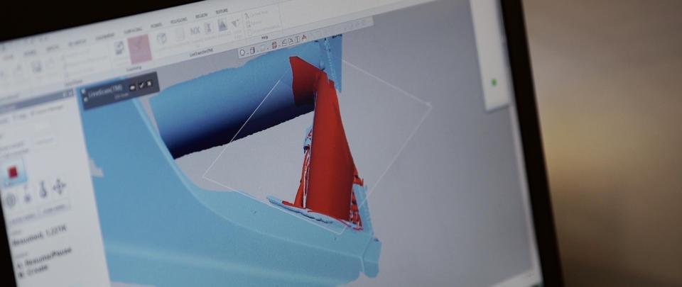 Escaneo 3D de piezas del Ecojet de Jay Leno con el software de ingeniería inversa Geomagic Design X