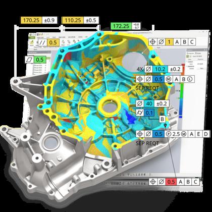 Software de inspección 3D y metrología Geomagic Control X