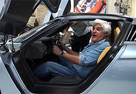 Restoring Jay Leno's Ecojet car with 3D scanning and 3D printing