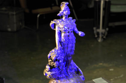 3D scanning enabled Impossible Creations to create an exact copy of the original