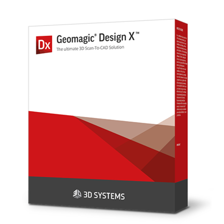 Software de escaneado a CAD Geomagic Design X