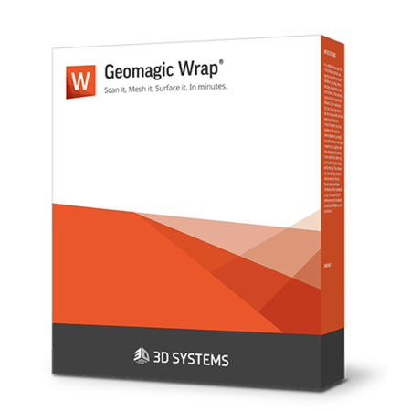 Software de escaneo 3D Geomagic Wrap
