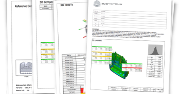 Geomagic control x features 3d systems custom reporting delivers flexibility in inspection software ccuart Image collections